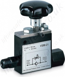VSM-21 Safety Check Valve