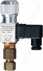 Yale VPS Pressure Switch - Adjustable from 5 to 700 BAR