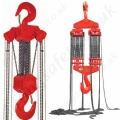 'LiftingSafety' High Capacity Manual Chain Hoist, Chain Block and Tackle, Top Hook Suspended  - Range from 30,000kg to 50,000kg with specials up to 100,000kg