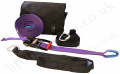 Ridgegear RGHL1 Temporary Fall Arrest Lifeline Suitable for 2 Users - 10m or 20m