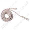 "Ridgegear ""RGA12R"" Kermantle Rope. Terminations, Plain Eye Sewn Both Ends - 11mm Diameter x 10, 20 and 30m (Or Custom Length)"