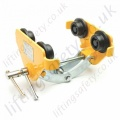 "Ridgegear ""RGBT1"" Fall Arrest or Man Riding Beam Trolley. Quick Adjustment Width - 75mm - 200m"