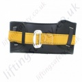 "Ridgegear ""RGBE""  Work Positioning Belt For Use With Pole strap & Restraint lanyard with 1 x Back (rear) 'D' Ring"