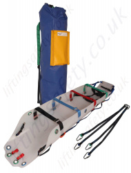 "Ridgegear ""RGR11"" Rescue Stretcher Kit From  Special Durable Plastic Formula."
