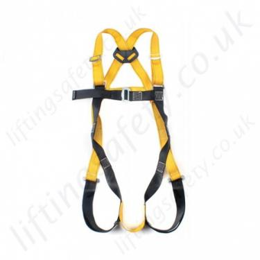 1 Point Safety >> Rgh1 Single Point Safety Harness With 1 X Rear D Ring To En361