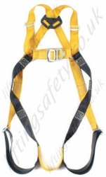 "Ridgegear ""RGH2"" Two Point Fall Arrest Harness with Front and Rear 'D' Ring to EN361"