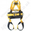 "Ridgegear ""RGH4"" Four Point Fall Arrest Work Positioning Harness with front and Read 'D' Rings"