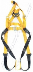 Front & Rear D Rescue Harness