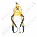 "Ridgegear ""RGH5"" Rescue Harness. Fall Arrest Anchorages Front and Rear 'D' Rings. Additional EN1497 Overhead Anchorage For rescue Only"