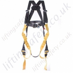 "Ridgegear RGH9 2 Point ""Semi Elasticated"" Fall Arrest Harness with Front and Rear 'D' Ring to EN361"