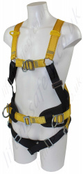 "Ridgegear ""RGH11"" Multi Function Fall Arrest Work Positioning Harness with Front and rear 'D' Rings"