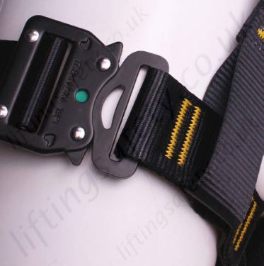 Adjustable Quick Release Buckles On Leg And Front Chest Straps