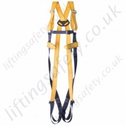 Ridgegear RGH31 Economy Single Point Harness with 1 x Rear 'D' Ring to EN361