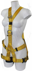 "Ridgegear RGH35 ""Ladies Harness"" With Front and Rear 'D' Rings to EN361"