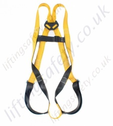 Ridgegear RGHE Economy Single Point Harness with 1 x Rear 'D' Ring to EN361