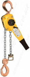 "Yale ""UNO Plus SR"" Atex, Ratchet Lever Hoist. Spark and Corrosion Resistant - Pull-Lift Range from 750kg to 6000kg"