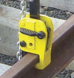 Yale CR Single Rail Clamp - 1000kg or 2000kg Capacity