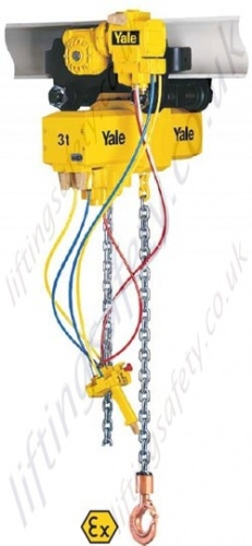 Atex Pneumatic chain hoist