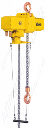 "Yale ""CPA Atex"" Pneumatic Chain Hoist Spark Resistant, ATEX approved (Spark Resistant / Explosion Proof)) - Range from 2 to 10 tonne."