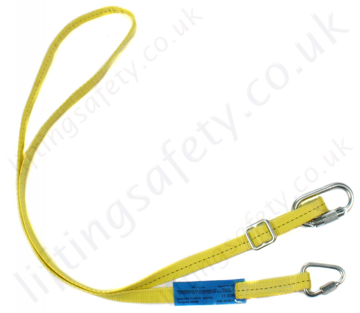 Ridgegear Rghk5c Adj Restraint Height Safety Harness Kit With 2 Rgl12