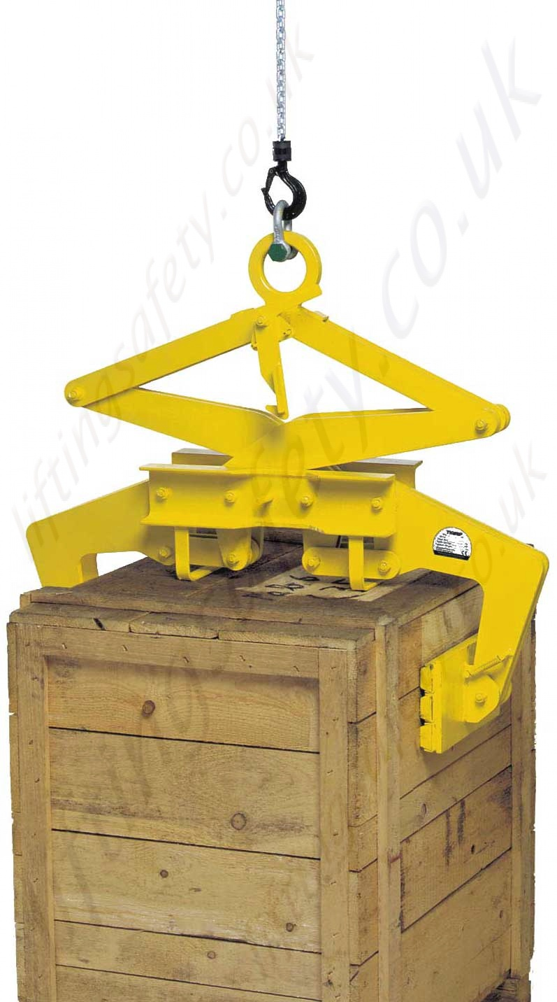 Lifting Boxes For Lift Assists : Camlok quot tbg tst scissor block grab range from kg to