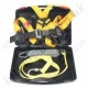 "Ridgegear ""RGHK1"" Basic Fall Arrest Kit with 2 Point Harness, 1.8m Energy Absorbing Lanyard with small Karabiners and Case."