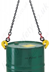 Steel Drum Grabs With Chains