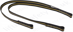 "Ridgegear ""RGL14"" Twin Leg Adjustable Restraint Lanyard with Choice of Karabiners, Scaffold Hooks and Snap Hook - 1.8 Metre"