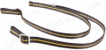 "Ridgegear ""RGL19"" Twin leg Restraint Lanyard. Karabiner options Inc.. Scaffold, Eye Hook and Snaphook- Length 1.8 m"