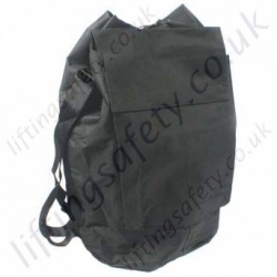 "Ridgegear ""RGK32"" Black Rope Storage Bag - Small 40x40cm - Medium 52x40cm - Large 60x60cm."