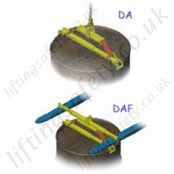 Camlok DA/DAF Drum Clamps - 350kg Capacity