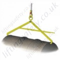 Camlok DT Crane Slung Drum Tongs For Lifting Steel Drums - 500kg