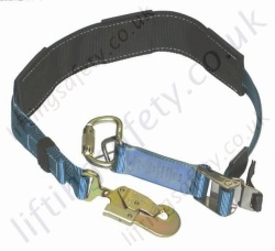 "Ridgegear ""RGP11"" Ulility Multi Purpose Pole strap Work Positioning Lanyard for operational (When At Height). Adjustment from - 0.8m - 1.8 Metre"
