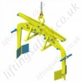"Camlok ""DBV300"" Crane Slung Scissor Action Drum Grab For Steel Drums 400-600mm Diameter - 300kg"