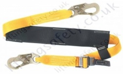 Webbing pole strap with stainless steel buckles