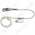 "Sala ""Manustop"" Adjustable Pole Strap for Work Positioning c/w Sliding Jaw Adjuster and Snaphook. ""Adjustable Restraint Lanyard"" - 2m"
