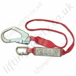 "Sala ""Sanchoc"" Webbing Fall Arrest Lanyard With Scaffold Hook Connector - 2m"
