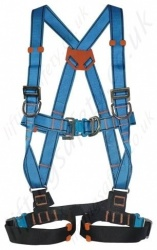 Tractel HT46BA VertyTrac (With Auto Buckles) Fall Arrest Harness With Front and Rear 'D' Rings and 2 x Additional Chest 'D' Rings