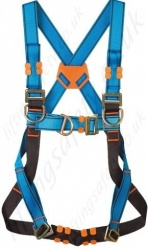 Tractel VertyTrac HT43 (Standard Buckles) Fall Arrest Harness with Front and Rear 'D' Rings and 2 x Chest 'D' Ring
