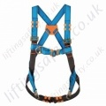 "Tractel ""HT22 BA"" 2 Point Fall Arrest Harness with Front and Rear 'D' Rings - Auto Buckles"