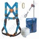 "Tractel Vertytrac ""Roofer Kit"" Vertical Access Height Safety Kit with 2 Point Harness, Manual / Automatic Rope Grab with Choice of Rope Length and Bag."