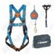 "Tractel Vertytrac ""Industrial Maintenance Kit 3"" with HT42 Harness (Front and Rear Connections) 5 Metre Fall Arrest Inertia Reel , Sling and Carry Bag"