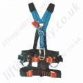 "Tractel Elytrac ""HT Rescue"" Rope Access Fall Arrest Harness with Front and Rear 'D' Rings & Work Positioning Belt"
