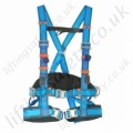 "Tractel Elytrac ""HT Intense"" Fall Arrest Harness with Rear 'D' Ring, Front webbing Loops and Work Positioning Belt"