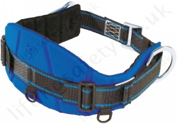 "Tractel ""CE03"" Adjustable Work Positioning Belt For Use With Pole strap & Restraint Lanyard with 2 x Side 'D' Rings - S, M and XL"