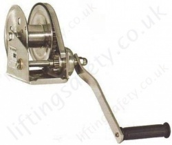 HW-CS Stainless Steel Hand Winch