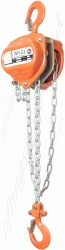 William Hackett C4 Hand Chain Block, Top Hook Suspended - Range from 500kg to 50,000kg