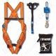 "Tractel Kit ""Easytrac 4"" Fall Arrest Kit with 2 Point Harness Economy 2m Inertia Reel, Anchorage Strap and bag"