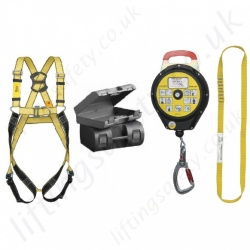 "Yale ""Kit 5"" (Construction Kit 3) Height Safety Kit with 2 point Harness, 10m Fall Arrest Block, 600mm Anchor Sling and Carry Bag"