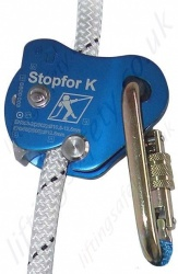 "Tractel ""Stopfor K"" Automatic vertical Rope Guided Fall Prevention Device Suitable for 10-12mm Rope"